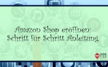 Amazon Shop eröffnen: Auch von zuhause aus möglich