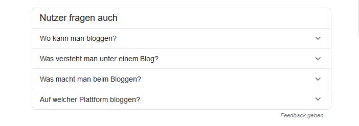 Bei Google als Nutzerfragen gefunden.