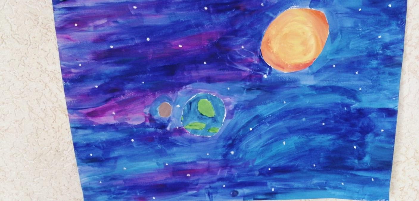 Malen und Zeichnen ... hier ein Bild meiner Tochter